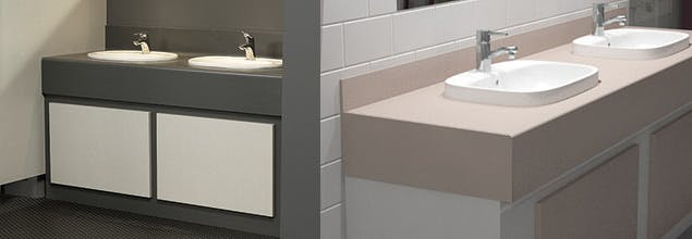 Washroom Vanity Units