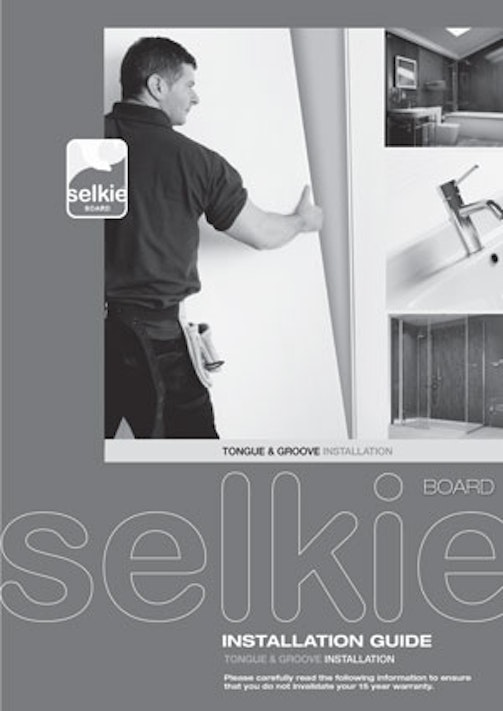 Selkie Tongue & Groove Install Guide