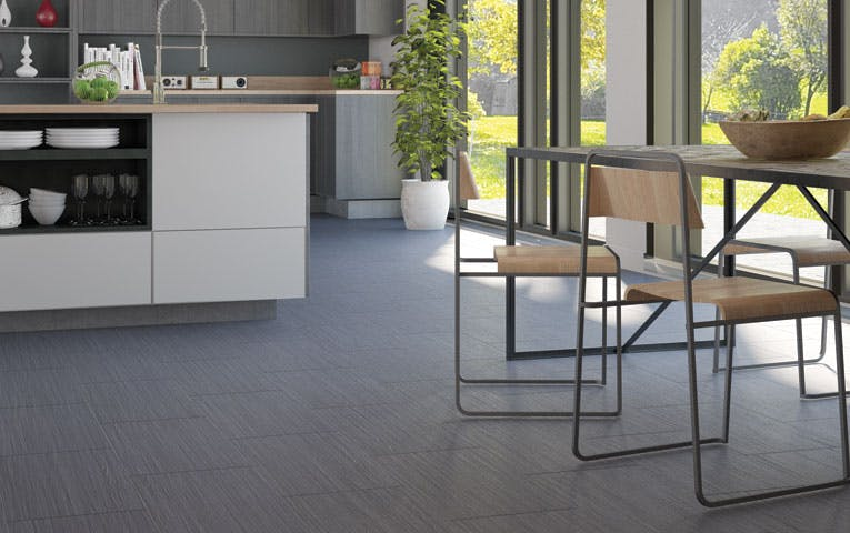 CLIXEAL VINYL FLOORING - Linear Grey