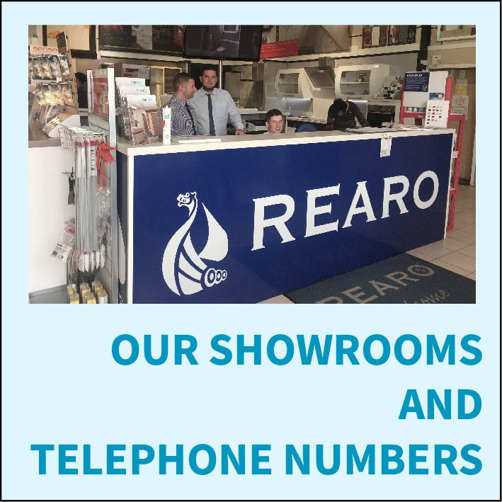 Our Showrooms And Telephone Numbers